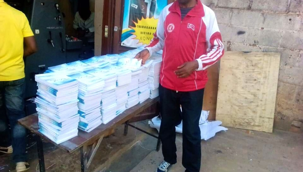 Books for 7 Countries in Central Africa