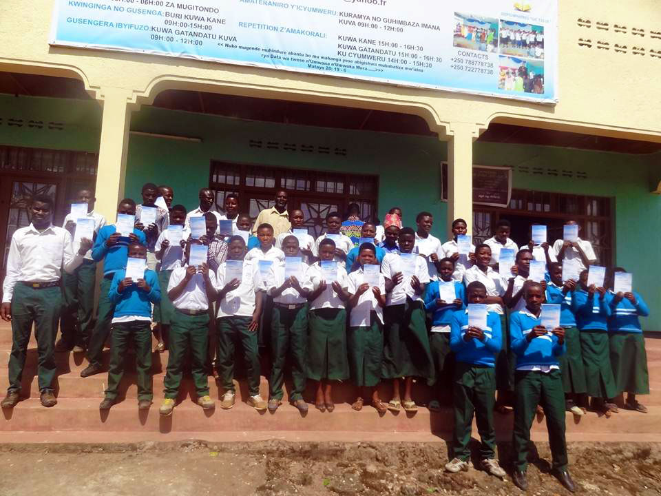 Visit of Students from Prayer Group G.S MUKONDO to Nain Hope